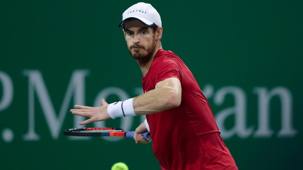 Andy Murray steht in Shanghai in der nächsten Runde