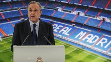 Will eine neue Superliga in die Spur bringen: Real-Präsident Florentino Pérez