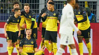 El Dortmund sueña con pasar a cuartos de final.