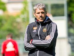 Dietmar Kühbauer will sich mit Rapid nach oben orientieren