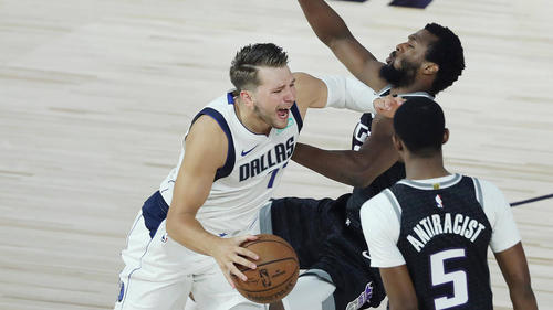 Die Dallas Mavericks setzten sich gegen die die Los Angeles Clippers durch