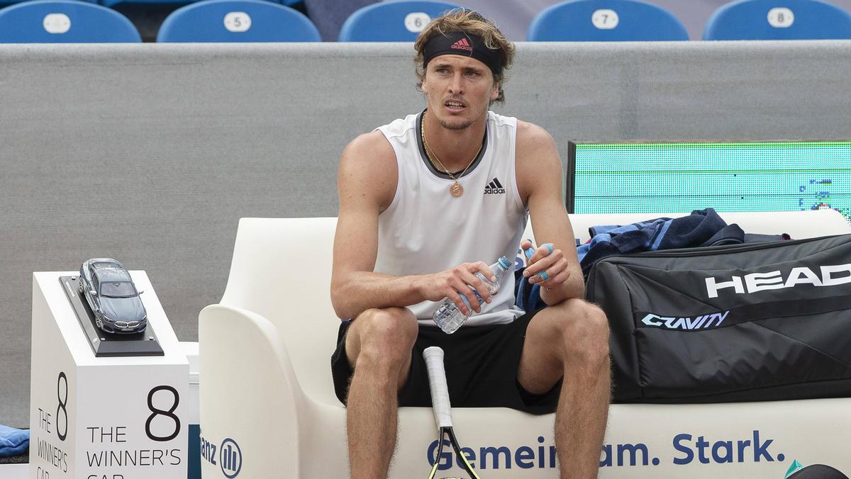 Alexander Zverev nimmt am ATP-Turnier in Halle teil