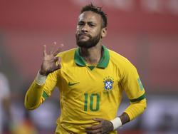 Brasiliens Olympia-Team hofft auf eine Teilnahme von Superstar Neymar