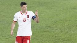 Lewandowski traf gegen Spanien per Kopf