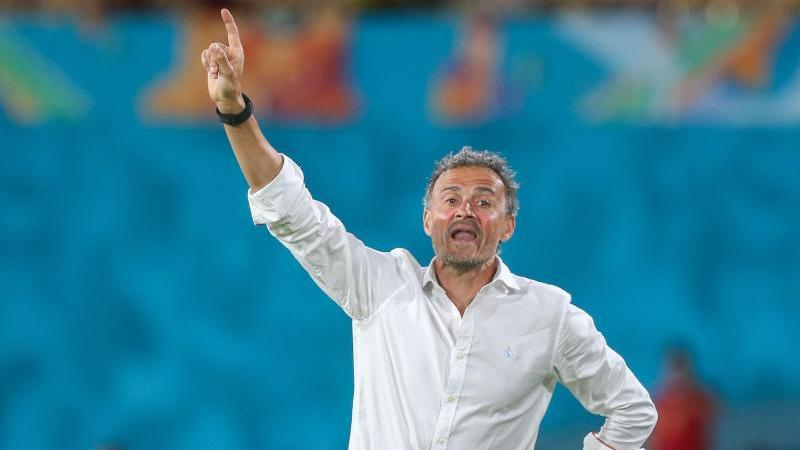 Trainer Luis Enrique und seine Spanier brauchen im letzten Grupenspiel einen Sieg