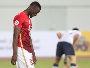 Jackson Martínez no pudo marcar en su debur con el Guangzhou Evergrande. (Foto: Getty)