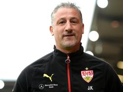 Jürgen Kramny will den Big Point mit dem VfB