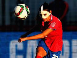 Die Frau mit der Maske