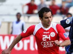 Hadi Norouzi im Einsatz für Persepolis