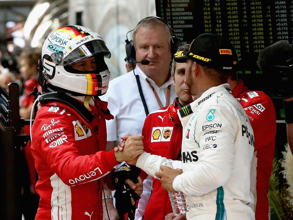 Sebastian Vettel und Lewis Hamilton werden sich auch in Monaco wieder einen heißen Kampf liefern