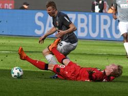 Julian Brandt und Bayer Leverkusen mussten sich gegen den FCA mit einem Punkt begnügen