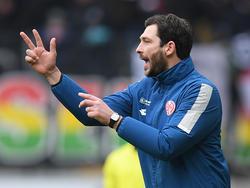 Sandro Schwarz findet mit seinen Mainzern einfach nicht in die Spur