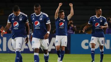 Millonarios goleó en su estadio a General Díaz. (Foto: Imago)