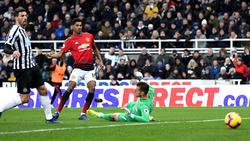 Marcus Rashford erzielte das 2:0 für Manchester United