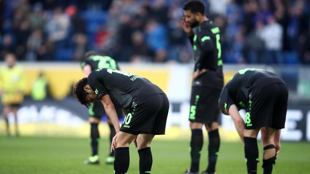 Hannover 96 taumelt dem Abstieg entgegen
