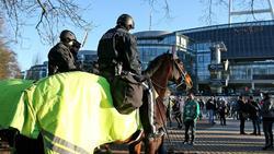 Beim Pokalspiel in Bremen wurden Polizisten verletzt