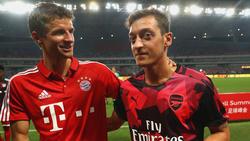 Gibt's in Carson ein Wiedersehen von Thomas Müller und Mesut Özil?