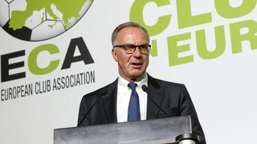 FC-Bayern-Vorstandschef Karl-Heinz Rummenigge verpasst die ECA-Vollversammlung