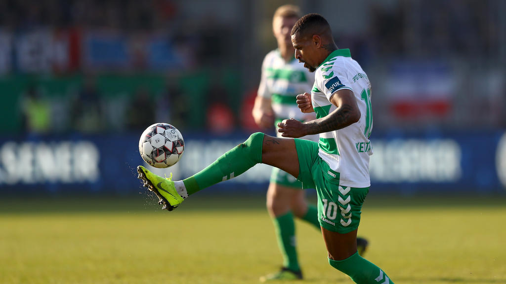 Daniel Keita-Ruel ist für drei Spiele gesperrt worden