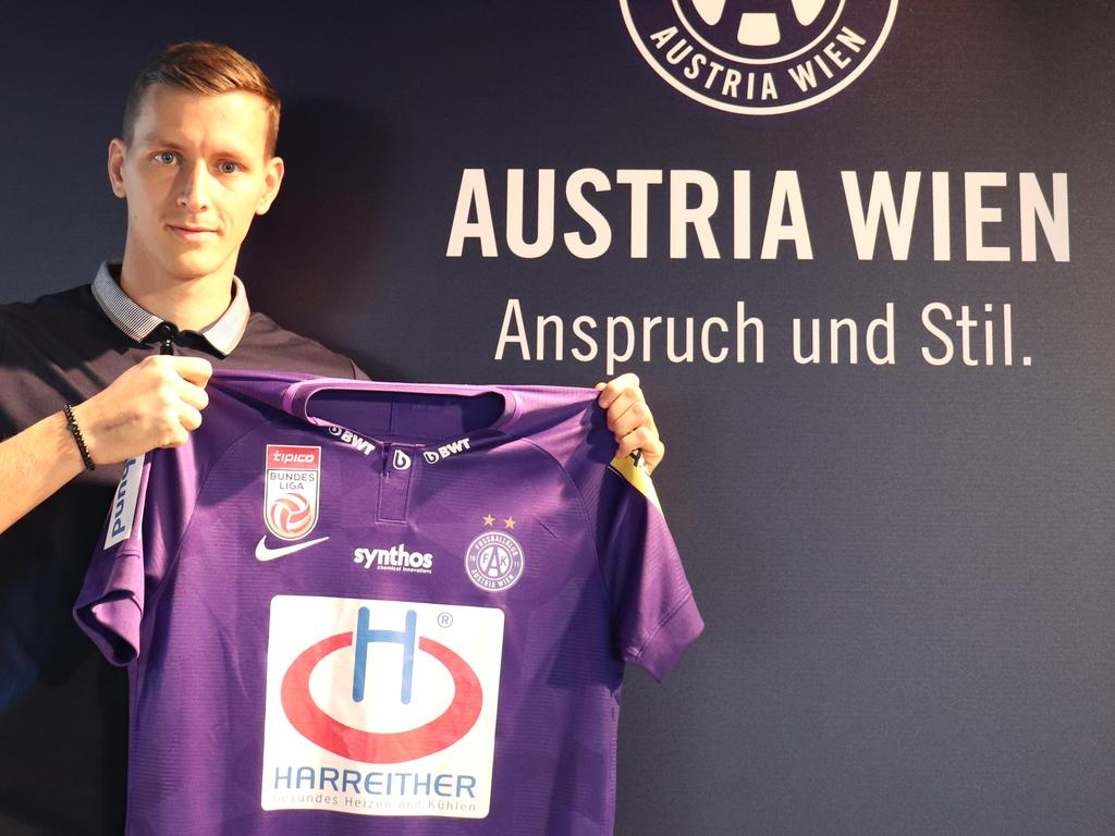 Stephan Zwierschitz ist ab sofort Austrianer