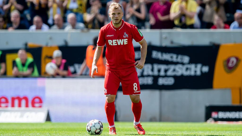 Johannes Geis absolvierte 14 Spiele für den 1. FC Köln