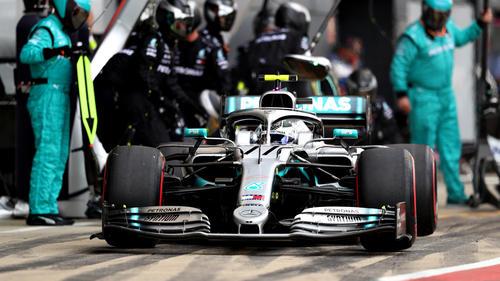 Valtteri Bottas kam einmal mehr zum Stopp als Lewis Hamilton - nur dank der Regeln