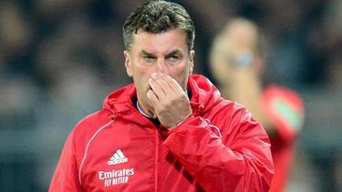 """HSV-Coach Dieter Hecking vermisste """"Durchschlagskraft und Effizienz"""""""