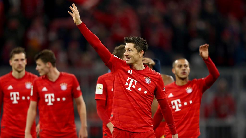 Bayern-Star Robert Lewandowski ist in Topform