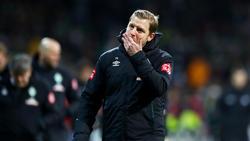 Florian Kohfeldt ist mit Werder Bremen im Abstiegskampf angekommen
