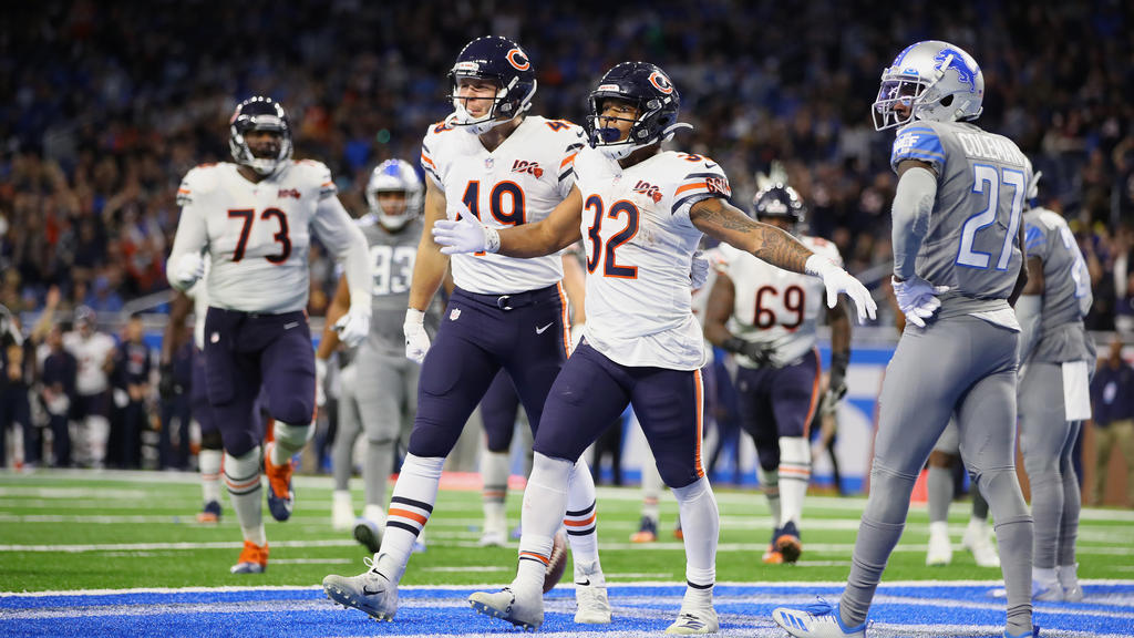 Die Chicago Bears setzten sich gegen die Detroit Lions durch