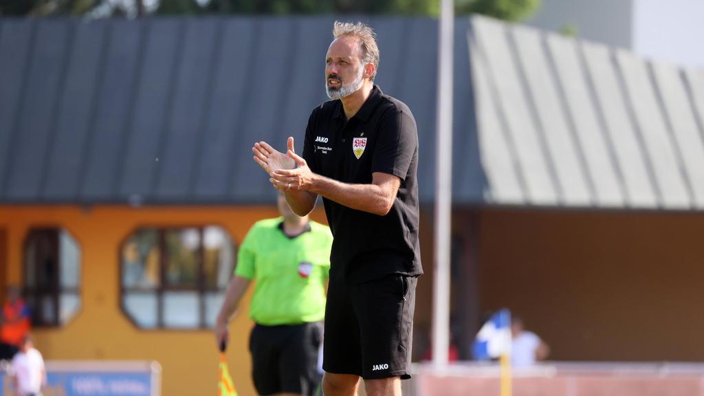 Der VfB Stuttgart tritt gegen den BFC Dynamo an