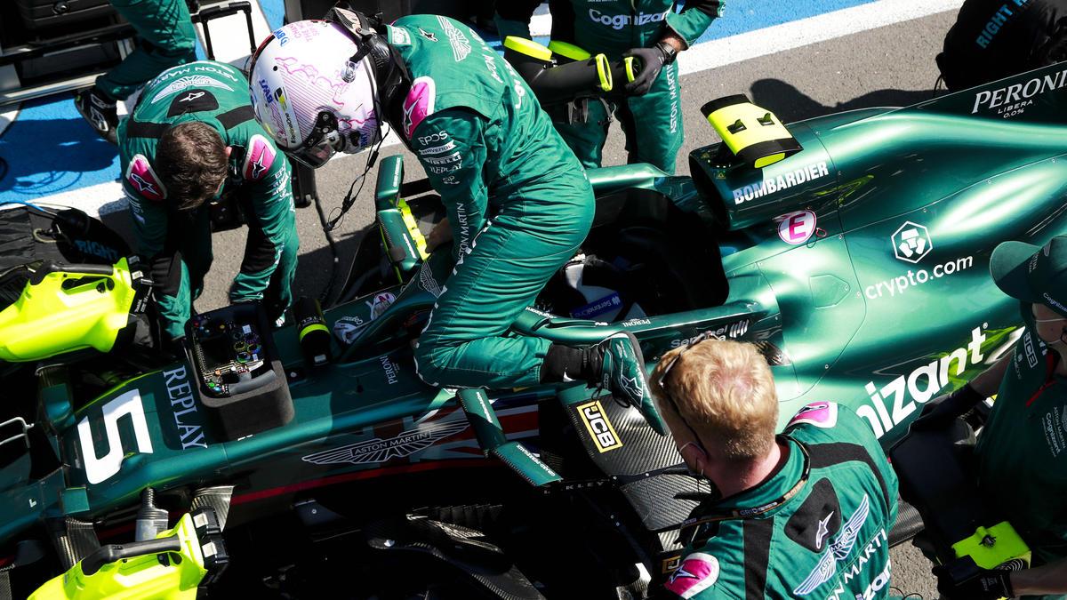 Für Sebastian Vettel läuft es in der aktuellen Formel-1-Saison noch nicht rund