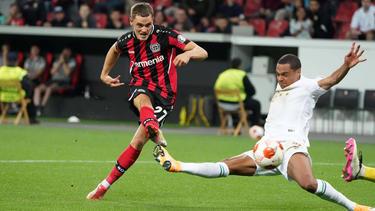 Florian Wirtz erzielte das Siegtor für Bayer Leverkusen
