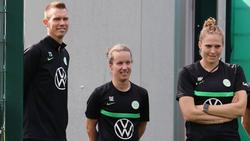 Tommy Stroot (li.) hat mit dem VfL Wolfsburg noch einiges vor
