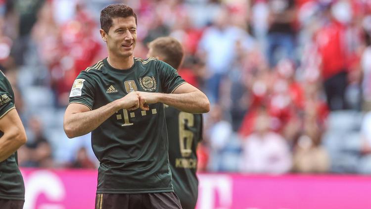 Bayern-Goalgetter Lewandowski lobt BVB-Star Erling Haaland