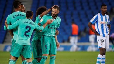 Real Madrid steht wieder vorn in La Liga