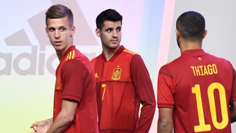 Dani Olmo (l.) und Thiago (r.) stehen im Aufgebot Spaniens