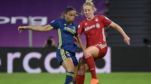 Die Bayern-Frauen schieden gegen Lyon unglücklich aus