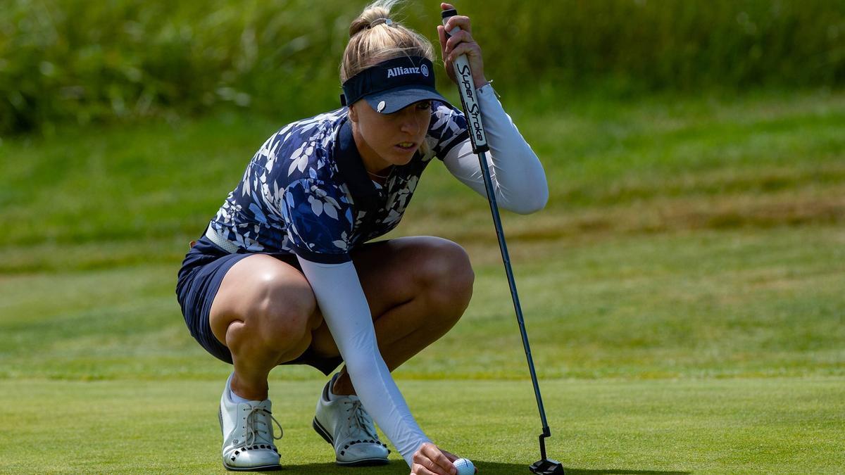 Sophia Popov hat die Führung nach einer starken Auftaktrunde übernommen