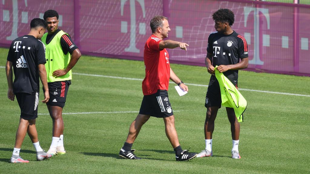 Kingsley Coman (r.) fehlt dem FC Bayern gegen Chelsea