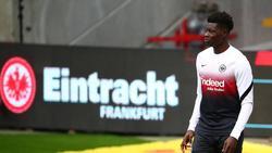 Verletzte sich bei der U21: Ragnar Ache von Eintracht Frankfurt