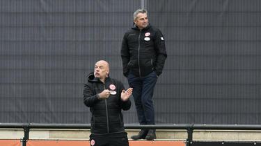 Neu im Vorstand von Fortuna Düsseldorf: Klaus Allofs (r.)