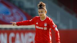Lina Magull spielt für den FC Bayern München