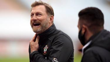 Ralph Hasenhüttl und Southampton führen die Premier League an