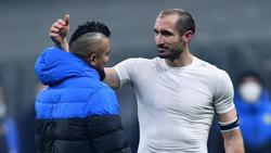Eine Geste von Arturo Vidal sorgte für Entsetzen bei den Inter-Fans