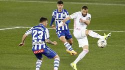 Karim Benzema (r.) gewann souverän mit seinen Königlichen