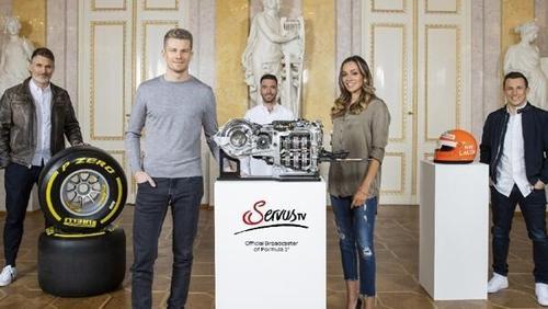 Das Team der ServusTV-Formel-1-Übertragungen für 2021