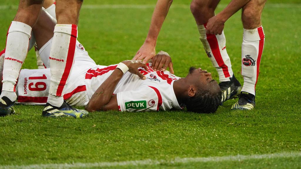 Kingsley Ehizibue fehlt dem 1. FC Köln wohl länger