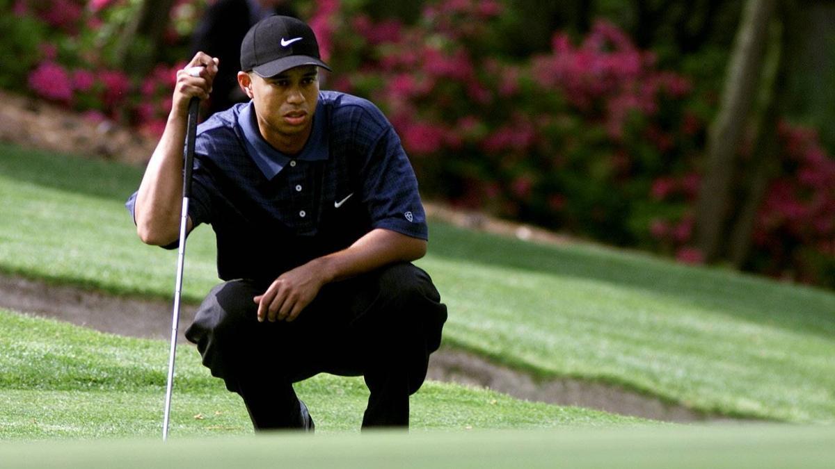 Tiger Woods gewann das Masters-Golfturnier 2001 im Augusta National Golf Club