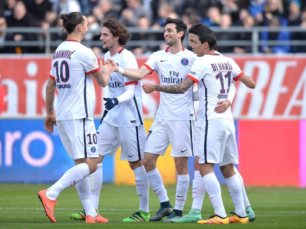 PSG stürmte in Rekordzeit zum Meistertitel